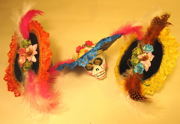 Catrina Ornament | Day of the Dead Ornaments, Paper Mache