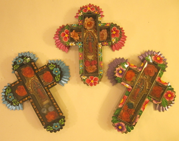 Small Cross with Nicho | Mexican Crosses, Assorted