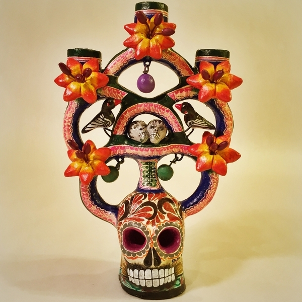 Tree of Death | Day of the Dead Clay Work