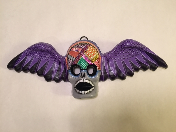 Winged Angel of Death, Large | Day of the Dead Clay Work