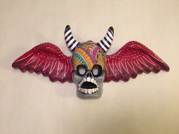 Winged Devil, Large | Day of the Dead Clay Work