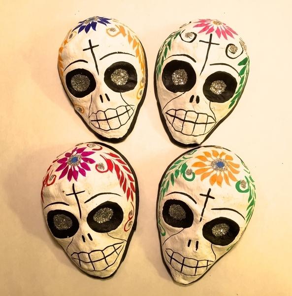 Mini Mascara Ornaments |  Sale Items