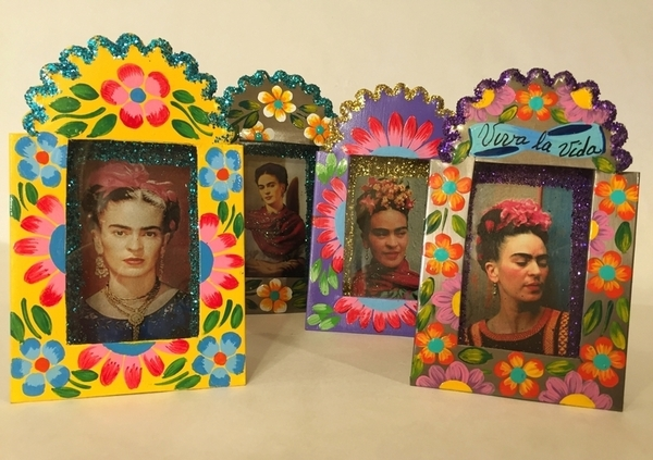 Miniature Frida Nicho | Nichos & Tin Based Designs