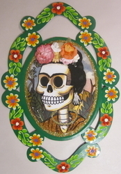 Frida Muerta Garland | Nichos & Tin Based Designs