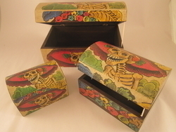 Catrina Storage Box, Large | Decorative Boxes