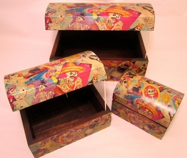 Day of the Dead Coffer Box, Medium |  Sale Items
