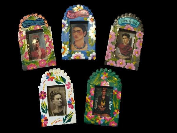 Frida Nicho, Miniature | Frida Nichos & Tin Designs