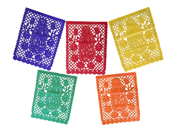 Guadalupe Papel Picado Banner, S/12 | Guadalupe Papel Picado