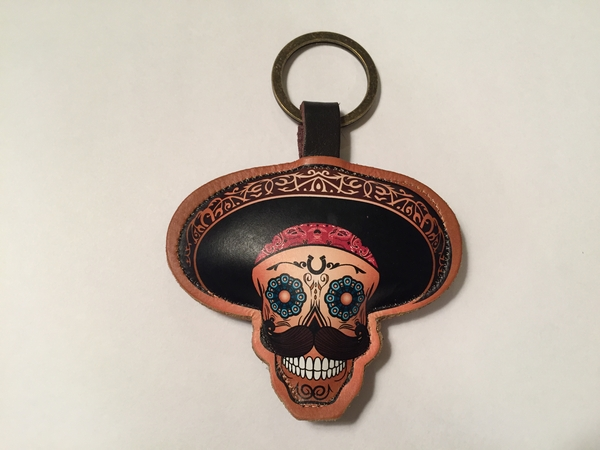 Leather Charro Keychain | Leather Coin Purses and Keychains