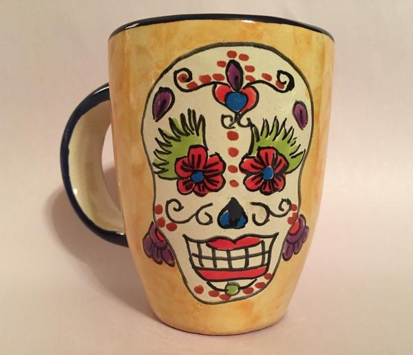 Calavera Girl Mug |  Sale Items