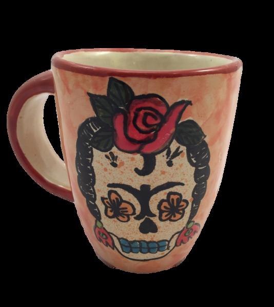 Frida Calavera Mug | Day of the Dead, Entertaining
