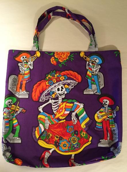 Dancing Catrina Tote | Market Bags and Totes