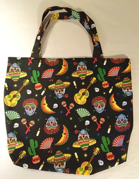 Day of the Dead Tote | Market Bags and Totes