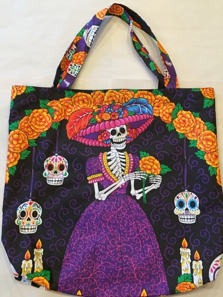 Catrina Ofrenda Tote | Day of the Dead Market Bags and Totes