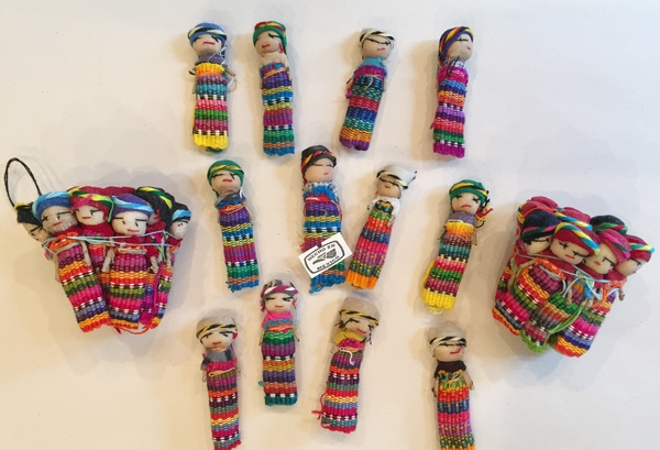 Worry Dolls, S/12 | Mexican Maria Dolls