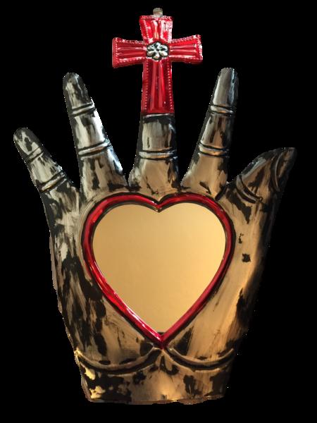 Healing Hand with Mirror (C)   Healing Hands, Assorted