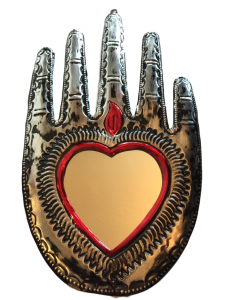 Healing Hand with Mirror (E)   Healing Hands, Assorted
