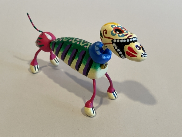 Day of Dead Catrina Dogs | Day of the Dead Clay Work