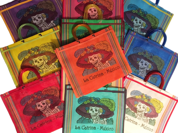 Catrina Market Bags | Mexican Market Bags and Totes