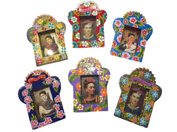 Frida Nicho, Medium | Frida Nichos & Tin Designs