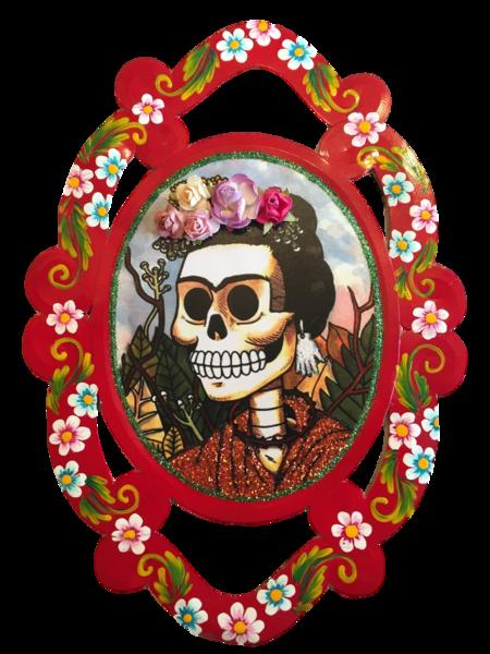 Day of the Dead Frida Garland | Frida Nichos & Tin Designs