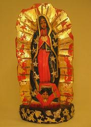 Virgin of Guadalupe, Large | Milagro Woodcarvings