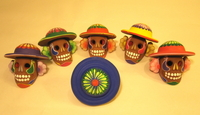 Image Day of the Dead Skulls