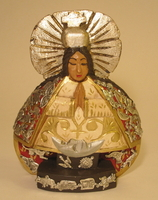 Image Virgin of Health with Milagros