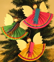 Image Corn Husk Ornaments