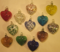 Image Potpourri of Glass Hearts