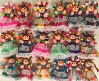 Image Traditional Mexican Maria Dolls