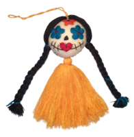 Image Day of the Dead Ornaments, Embroidered