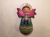 Image Painted Clay Angel