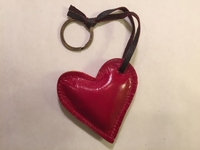 Image Leather Red Heart