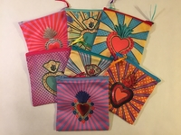 Image Sacred Heart Pouches
