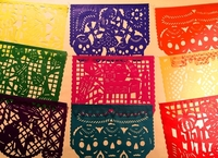 Image Day of the Dead Papel Picado, S/12