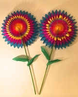 Image Paper Flowers, S/10
