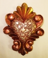 Image Sacred Heart with Gilded Frame