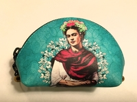 Image Leather Frida Forever Coin Purse, Green