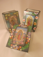 Image Antiqued Guadalupe Box