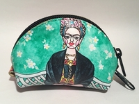 Image Frida Coin Purse, Green