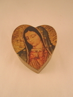 Image Heart Shaped Guadalupe Box