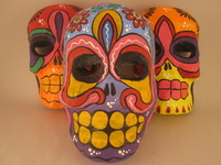 Image Day of the Dead Calavera Mask