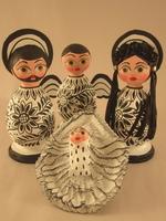 Image Black and White Nativity