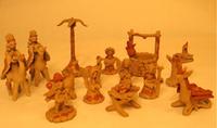 Image Clay Nativity Set -14 pieces