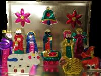 Image Flat Nativity Set