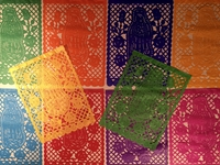 Image Guadalupe Papel Picado Banner, S/12