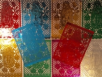 Image Guadalupe Papel Picado Banner, Mylar, S/12