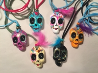 Image Handcrafted Catrina Pendants