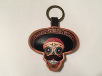 Image Leather Charro Keychain